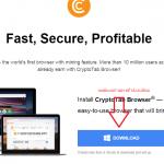 Cách đào bitcoint bằng cách dùng trình duyệt CryptoTab